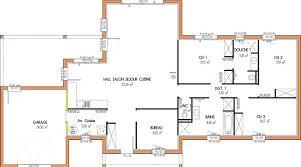plan de maison 3 chambres salon plan maison 3 chambres 1 intéressant plan maison 1 etage 3 chambres