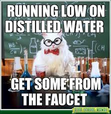 Water Meme - running low on distilled water cat meme cat planet cat planet
