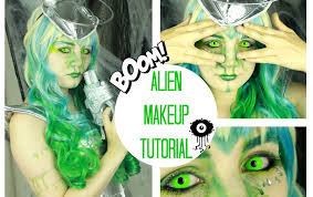 Alien Halloween Makeup by Alien Spacegirl Halloween Makeup Tutorial Halloween Monat