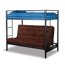 twin over full futon bunk 1665 cym furniture afw