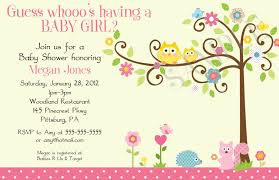owl baby shower owl baby girl shower invitations reduxsquad