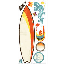 Surf U0027s Up Dry Erase Giant Removable Wall Decals Wall2wall