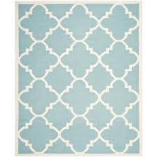 nourison oasis blue 8 ft x 10 ft 6 in area rug 002174 the