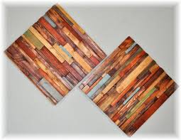 wall decor ideas colorful decorations wood wall hanging