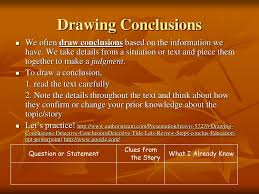 Drawing Conclusions Worksheets 4th Grade Ppt Making Inferences And Drawing Conclusions Powerpoint