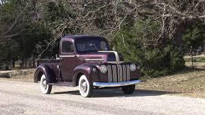 Vintage Ford Pickup Truck - 1947 ford 1 2 ton flathead v8 pickup truck youtube
