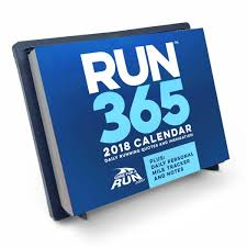 runner s 2018 daily desk calendar
