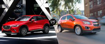 mazda cx3 2016 mazda cx 3 vs 2016 chevy trax