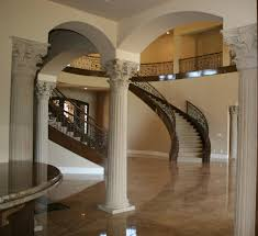 interior columns for homes class up your home with columns realm of design inc