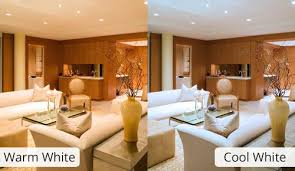 warm white or cool white integral led