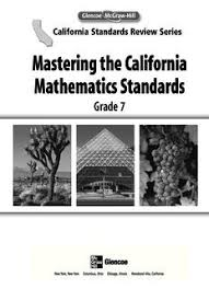 mastering the california mathematics standards glencoe pdf drive
