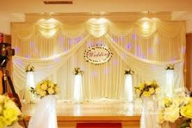 wedding backdrop aliexpress free shipping white beige white beige swag pipe and