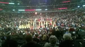 united center section 117 home of chicago blackhawks chicago bulls