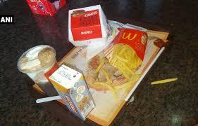 woman finds dead lizard in french fries at kolkata mcdonald u0027s
