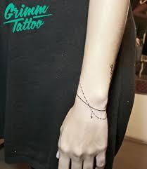 small tattoo bracelet tattoo tattoo artist grimmtattoo
