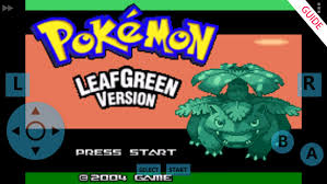 leaf green apk free guide for leaf green gba 3 1 0 apk
