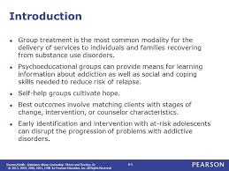 Addiction Counseling Theory And Practice Chapter 8 Treatment Substance Abuse Counseling Theory And