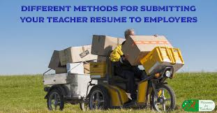 Example Of Resume Of A Teacher by Different Methods For Submitting Your Teacher Resume To Employers