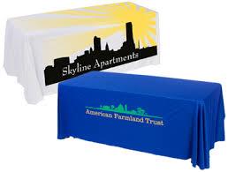 6ft Imprinted Table Cover Custom Custom Table Covers U0026 Skirts Personalized Logos U0026 Graphics