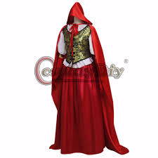 aliexpress com buy cosplaydiy once upon a time ruby u0027s little red