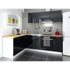 meuble haut cuisine noir laqué meuble cuisine noir laque cuisine et bois en 42 idaces