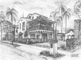 santa barbara style home plans spanish designs in santa barbara homes