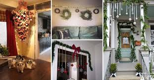 Ideas To Decorate Home 26 Genius Ideas To Decorate Your Christmas Home With Hanging Items