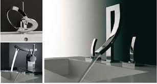 modern sinks and faucets elite modern bathroom sink waterfall