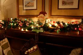 fireplace chic decorating mantels for christmas ideas with string