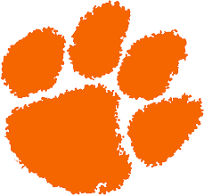 file clemson tiger paw logo svg wikimedia commons