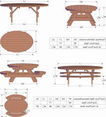 Octagon Patio Table Plans Octagon Picnic Table Plans Free Lovely Octagon Wood Picnic Table