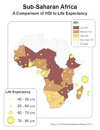 Map Of Sub Saharan Africa Gis Final Project Part 2 Patrick Phillips