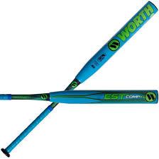 worth softball bats worth westmu est composite 13 5 usssa slowpitch softball bat