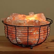 himalayan salt l basket salt l steel ring basket