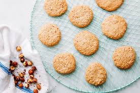 3 ingredient hazelnut cookies recipe epicurious com
