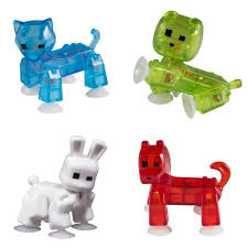 catdog stikbot pet cat dog rabbit bulldog in zing eco