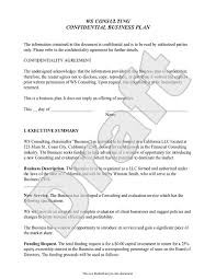 Business Template Plan by Business Plan Template Customize And Print Your Form