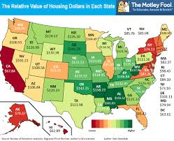 cost of living comparison us map