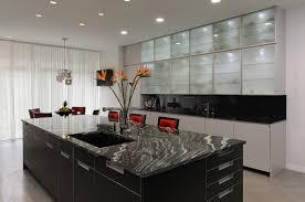 beautiful l shape modern style kitchen features orange color