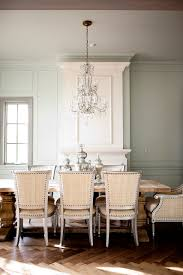interior design nice traditional dining room with crystal
