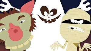 Halloween Cartoon Monsters by Scary Nursery Rhymes Halloween Monsters More Nursery Rhymes