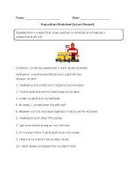 englishlinx com prepositions worksheets englishlinx com board