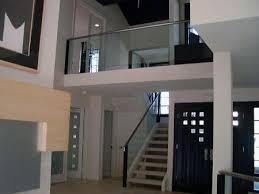 interior glass staircase railing google search staircases