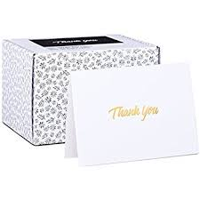 thank you cards bulk 100 thank you cards white bulk note cards with gold