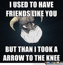 Funny Skyrim Memes - skyrim alone by r25 meme center