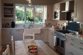 kitchen ideas kitchen colours kitchen designs kitchens liverpool sheraton edwardian painted taupe kitchen with itastone white mirror quartz worktops