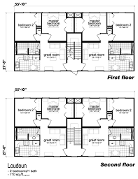 Multi Unit House Plans Multi Family Unit House Plans