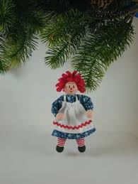 raggedy andy clothespin ornament raggedy andy ornament