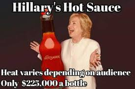 Photo Comment Meme - hillary clinton mocked mercilessly for hot sauce comment