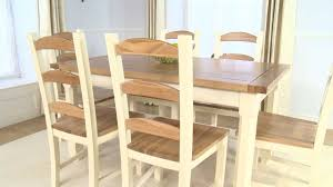 pine chairs eton pine u0026 ash 150cm dining table and chairs ofstv youtube